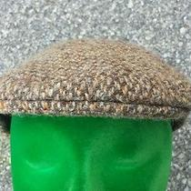 Vtg Burberrys ' Tweed Wool Newsboy Cabbie Hat Sz 7 Christys' London Burberry  Photo