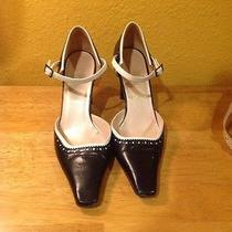 Vtg Christian Dior  High Heels 36.5us 5.5 Photo