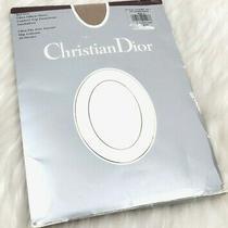 Vtg Christian Dior Ultra Silken Sheet Control Top Pantyhose Sandalfoot Size 2 Photo