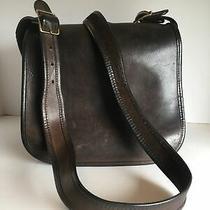 Vtg Coach Brown Leather Classic Shoulder Bag 9170 Photo