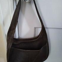Vtg Coach (K3h - 9033) Brown  Leather Shoulder Bag  Photo