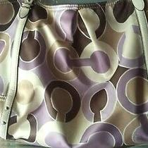 Vtg Coach Purse Very Nice Double Straps Photo