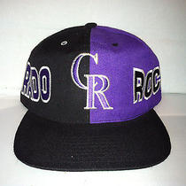 Vtg Colorado Rockies Snapback Hat Cap American Needle Mlb Nwot 90s Todd Helton  Photo
