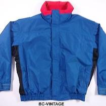 Vtg Columbia Aqua Blue Bugaboo Radial Sleeve Ski Jacket Coat Men's Xl Euc 28191 Photo