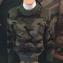 Vtg Commando Acrylic Military Sweater Mod England 36