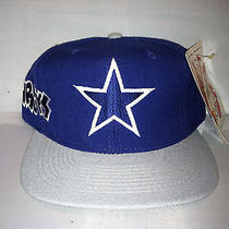 Vtg Dallas Cowboys American Needle Grafitti Snapback Hat Cap Rare 90s Nwt Nfl Photo