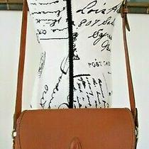 Vtg Dooney and Bourke Loden Saddle Bag Purse Outback All Weather Leather Rare Photo