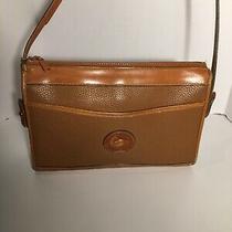 Vtg Dooney & Bourke All Weather Leather Pebble Embossed Cross Body Purse Bag Photo