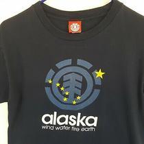 Vtg Element Alaska Skate Streetwear T Shirt Sz Medium M Usa Made Bam Surf Photo