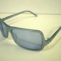 Vtg Emporio Armani Womens Opal Blue Frame Italy Sunglasses 707-S 769/9 58 16 120 Photo