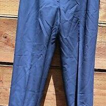 Vtg Evan Picone Elements Wool Blend Lined Pants Slacks Sz 14 Nwt Vtg Navy C-29 Photo