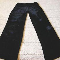 Vtg Express Black Velvet Pants Cassidy Fit Size 0 Photo