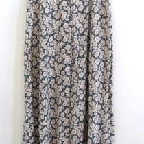 Vtg Floral Chic Shabby Free Spirit Boho Hippie People Flowy Romantic Sexy Skirt  Photo