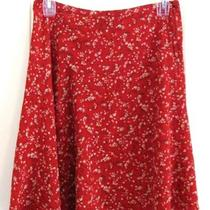 Vtg Free Spirit Boho Hippie People Chic Shabby 80s High Waist Flowy Skirt S Xs Photo