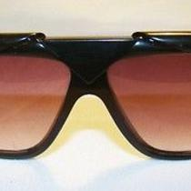 Vtg Gianni Versace Sunglasses Basix 816 Col 852 Bkr 80s Fashion Lady Gaga Ultra  Photo