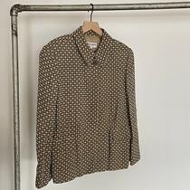 Vtg Giorgio Armani Le Collezioni Blazer Womens Sz 8 Made in Italy Checker Plaid Photo