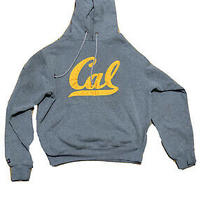 Vtg Jansport University California Berkeley Cal Bears Hoodie Pullover S Gray  Photo