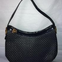 Vtg Koret Navy Blue Woven Hobo/ Shoulder Bag Photo