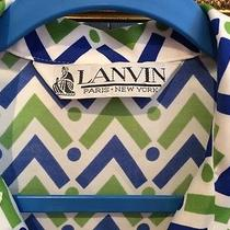 Vtg Lanvin Mod Print Dress From 60's in Primo Condition 1960's Size 14 Photo