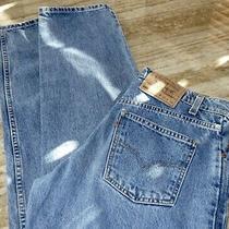 Vtg Levis 550 Jeans Mens 30x34 Relaxed Fit Medium Wash Cotton Orange Tab 90's Photo