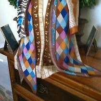Vtg Lot 48 -  5 Scarves - Oscar De La Renta Anne Klein Silk Photo