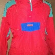 Vtg Men's Xl Columbia Ski Shell Pullover Winter Jacket Radial Sleeve W/zip Hood Photo