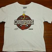 Vtg Mens 2006 Miami Heat Championship Tee T Shirt L Nba Finals Basketball 2013 S Photo