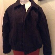 Vtg Mens American Male  Wool Bomber Jacket Size 42 Large Photo