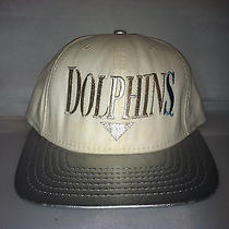 Vtg Miami Dolphins Strapback Snapback American Needle Nfl Football Rare 90s Og Photo