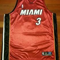 Vtg Miami Heat D Wade Dwyane Throwback Jersey Hardwood Classics S Reebok 06 54 Photo