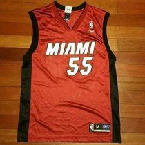 Vtg Miami Heat Jason Williams 55 Throwback Jersey Hardwood Classics S Reebok 06  Photo
