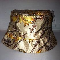 Vtg Nautical Gold Bucket Hat Cap Rare Nwt Deadstock Luxury Supreme Hermes Photo
