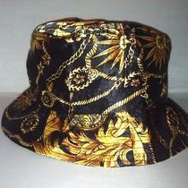 Vtg Nautical Gold Chain Bucket Hat Cap Rare Nwt Deadstock Luxury Hermes Supreme Photo