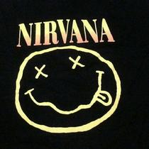 Vtg Nirvana American  Alternative Rock Grunge    Band  Promo Hoodie.. Photo