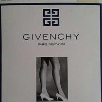 Vtg Nos Size B Discontinued Givenchy Gleamers Sideseam Pantyhose Tights