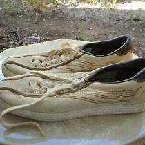 Vtg Osaga Canvas Sneakers Tennis Shoes 8.5 Ladies Christy Running Lifestyle  Photo