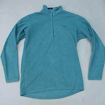 Vtg Patagonia Expedition Weight 1/4 Zip Capilene 4 Fleece Jacket Shirt M  Ml4  Photo