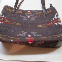Vtg. Pendleton Indian Navajo Wool Handbag Purse Hobo Bag Photo