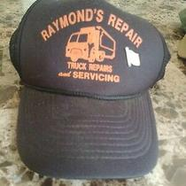 Vtg Raymond's Diesel Truck Repair & Service Trucker Hat Cap Mechanic Snap On Photo