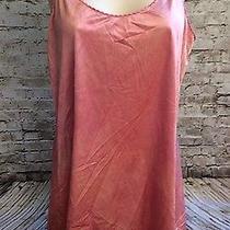 Vtg Rose Blush Slip Nighty Nightgown Satin 32 34 Sexy  Photo