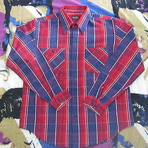 Vtg Slap Shot Genuine Wear Japan Chambray Flannel Union-Made Mister Freedom Apc Photo