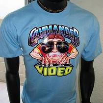 Vtg Space Invaders 1981 Arcade Game Taito Midway Bally Commander Video  T-Shirt Photo