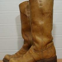 Vtg Tall Frye Leather Boots Womens 6 B - Usa Photo