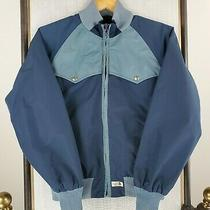 Vtg the North Face Medium Womens Made in Usa Blue Western Jacket W 1960s Pin Photo