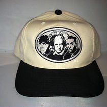 Vtg Three 3 Stooges American Needle Blockhead Snapback Hat Cap Rare 90s Tv  Photo
