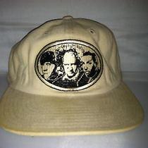 Vtg Three 3 Stooges American Needle Blockhead Tv Strapback Hat Cap Cartoon 90s Photo