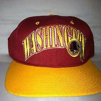 Vtg Washington Redskins Starter Snapback Hat Cap Rare 90s Rg3 Robert Griffin Nfl Photo
