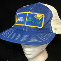 Vtg Western Express the Provincial Mesh Trucker Hat Snapback Lottery Patch Cap Photo