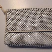 Vtg Whiting and Davis White Metal Mesh Purse Handbag 80s 70s Cross Body Handbag Photo