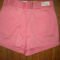 Vtg Womens 31 New Dickies Pink Jean Work Dress Shorts Pants 117 Photo